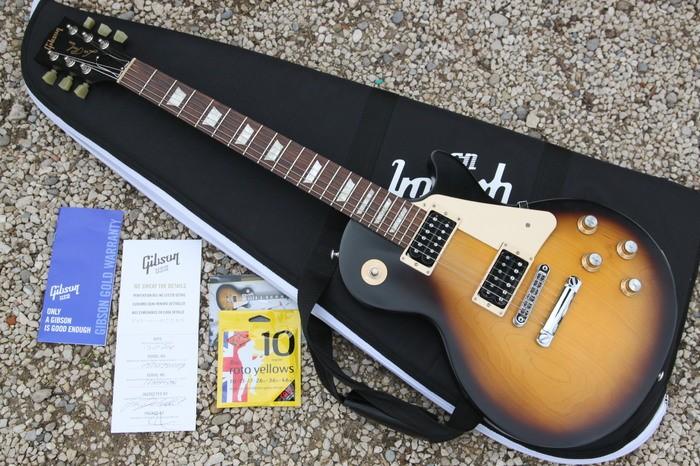 Gibson Les Paul Studio '50s Tribute Humbucker - Satin Vintage Sunburst (73009)
