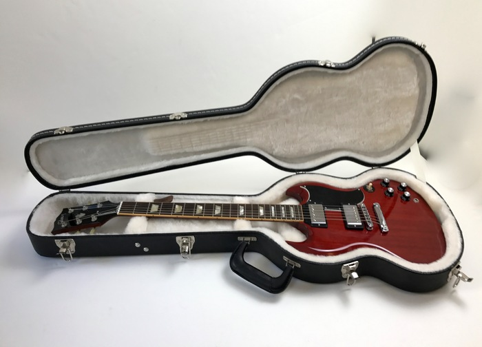 Gibson SG '61 Reissue - Heritage Cherry www.bassNguitar.fr images