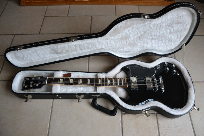 Gibson SG '61 Reissue Satin - Satin Ebony (2156)