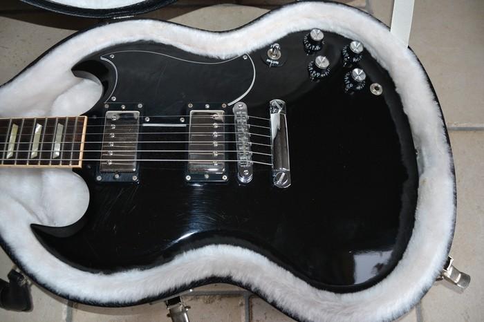 Gibson SG '61 Reissue Satin - Satin Ebony (21260)