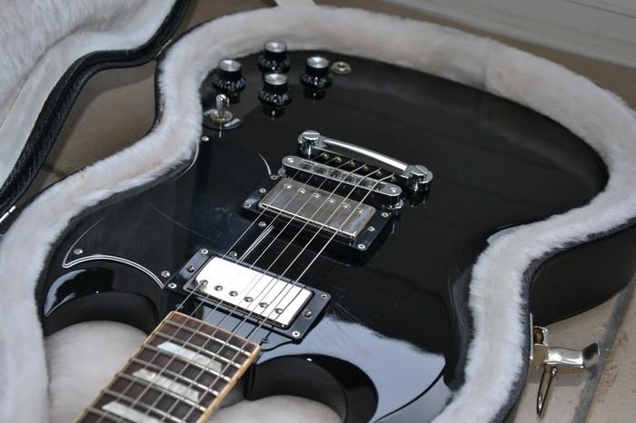 Gibson SG '61 Reissue Satin - Satin Ebony (22016)