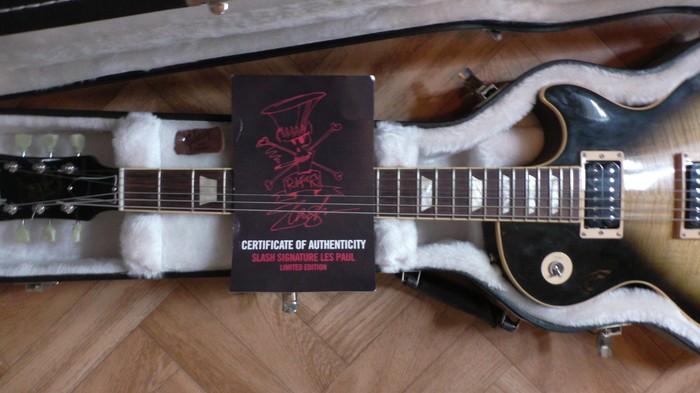 Gibson Slash Les Paul Standard 2008 - Antique Vintage Sunburst (99063)