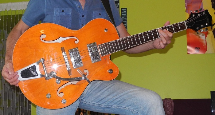 Gretsch G5120 Electromatic Hollow Body - Orange ancn images