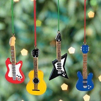Guitar Ornament 4 6034