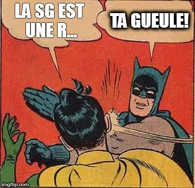 Batman et la SG