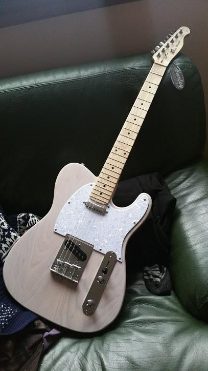 Harley Benton TE-30 - Blonde (33467)