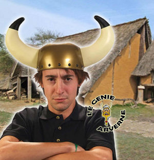 normal casque de gaulois viking grande cornes geantes de bufle asterix obelix vercingetorix scandinaves barbares des temps recules pillards