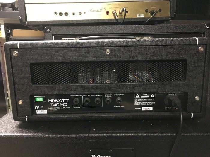 Hiwatt T40 Head (46826)
