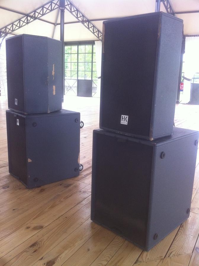 hk audio actor dx system image 608321 audiofanzine. Black Bedroom Furniture Sets. Home Design Ideas