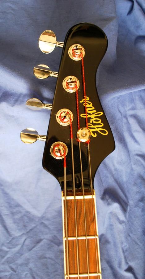 Hofner Guitars 185 Bass Guitar - sunburst (HCT-185-SB) (71965)