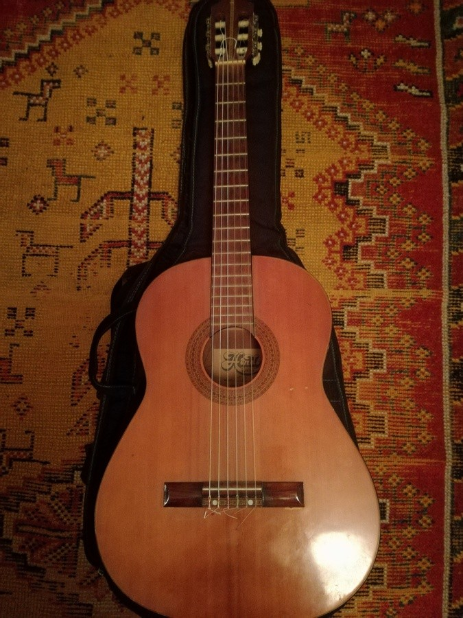 vend guitare classique hondo model 310 ile de france audiofanzine. Black Bedroom Furniture Sets. Home Design Ideas