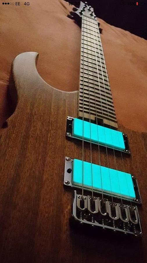 Photo Hufschmid Guitars Helldunkel de Freddyvanhalen