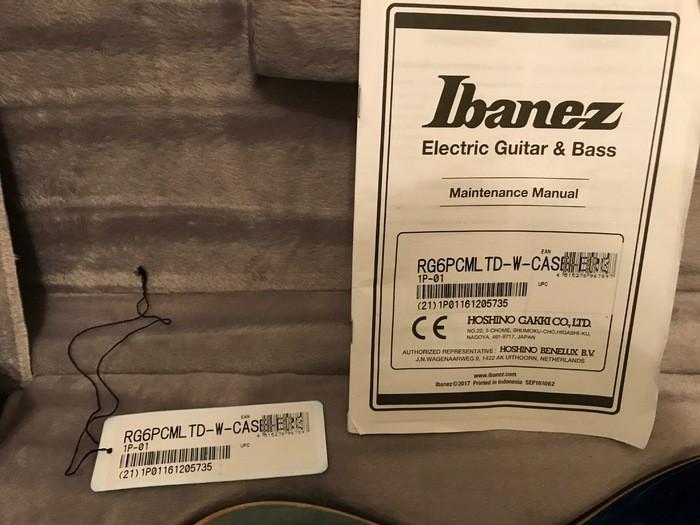 Ibanez RG6PCMLTD (52093)