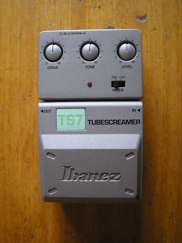 dating a tube screamer?