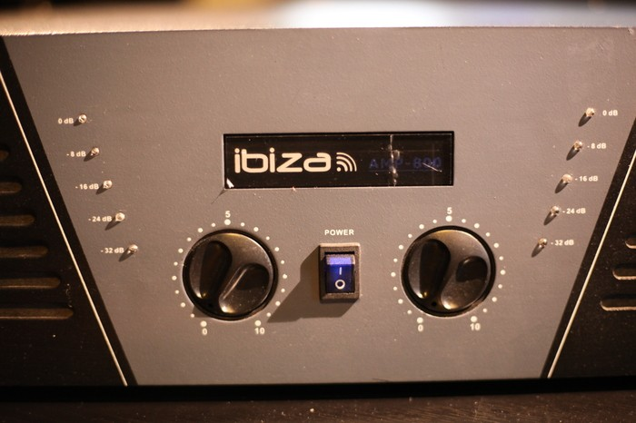 Ibiza Sound AMP-800 (67260)