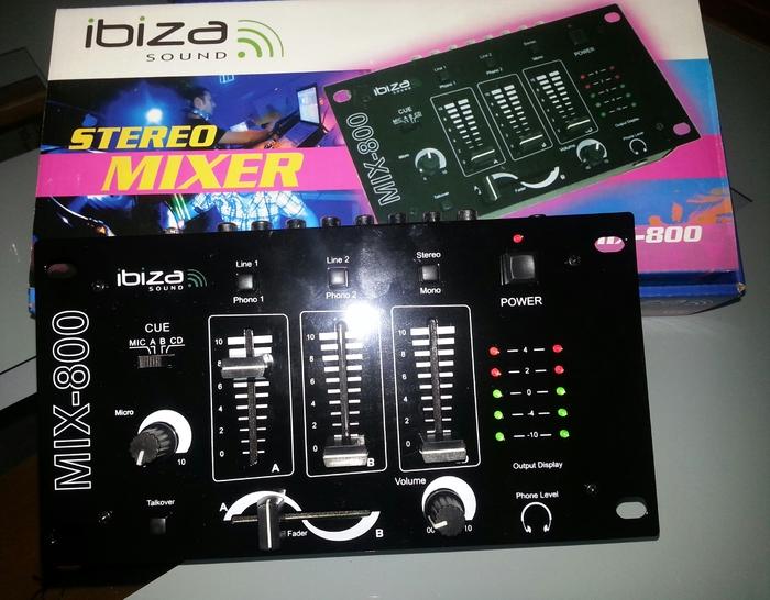 Photo ibiza sound mix 800 ibiza sound mix 800 87186 - Table de mixage ibiza mix 800 ...