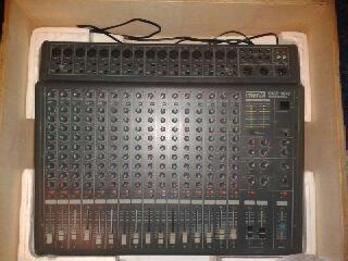 table de mixage m