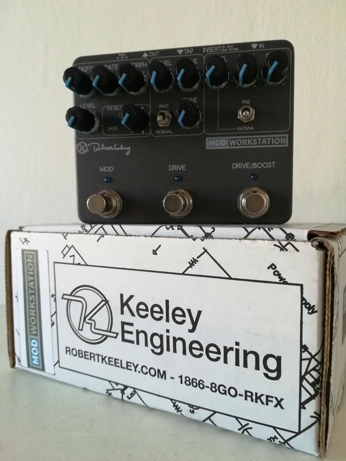 keeley electronics mod workstation image 2062932 audiofanzine. Black Bedroom Furniture Sets. Home Design Ideas