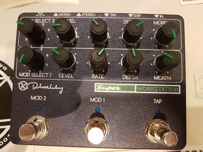 Keeley Electronics Super Mod Workstation (10537)