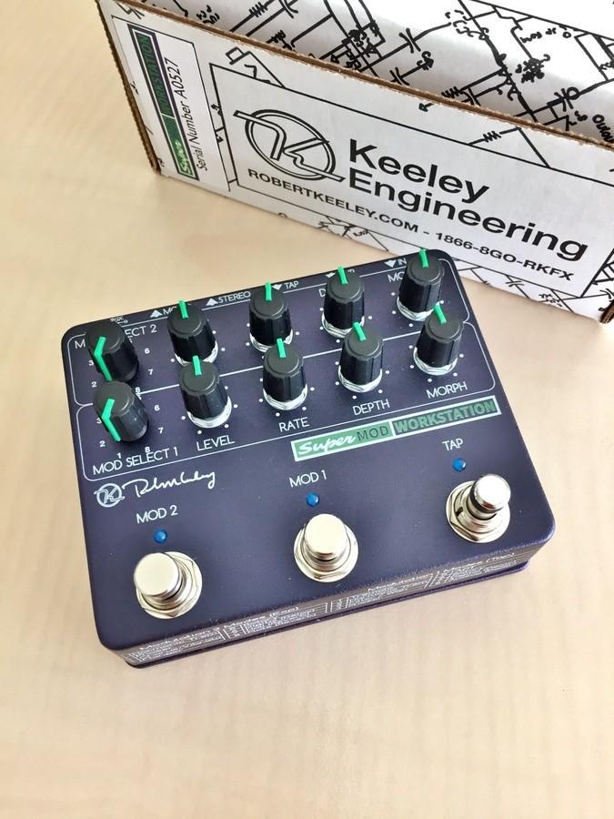 Keeley Electronics Super Mod Workstation (88776)