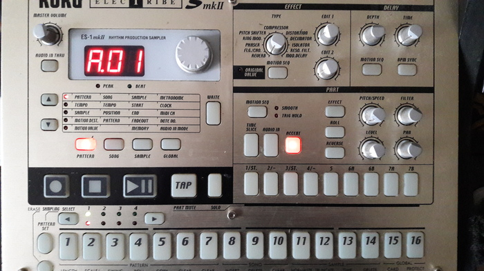 Korg Electribe es 1 Mk2 Manual