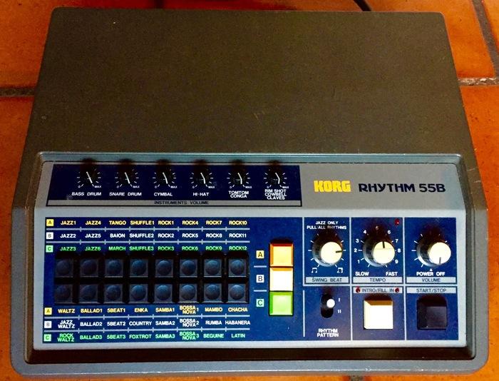 Korg KR-55b / Rhythm 55 thymalus images