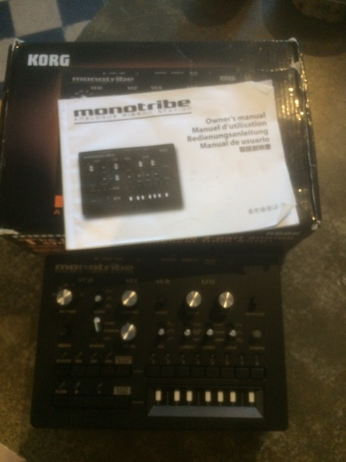 Korg Monotribe frigobox images
