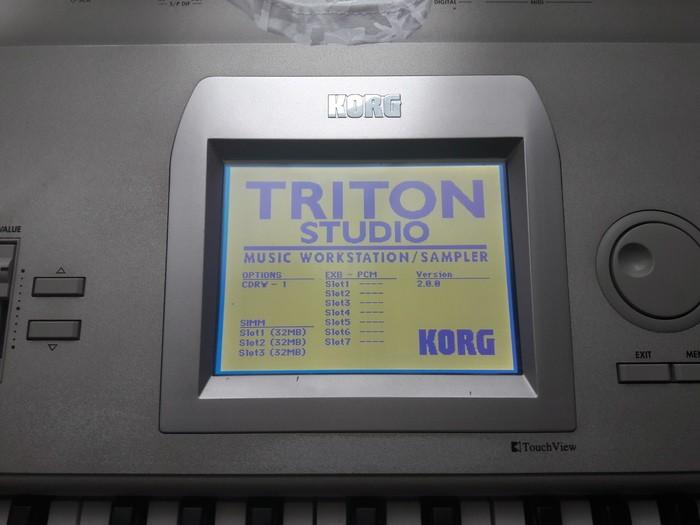 Korg Triton Studio 61 (19871)