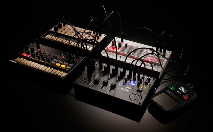 volca mix with Volcas