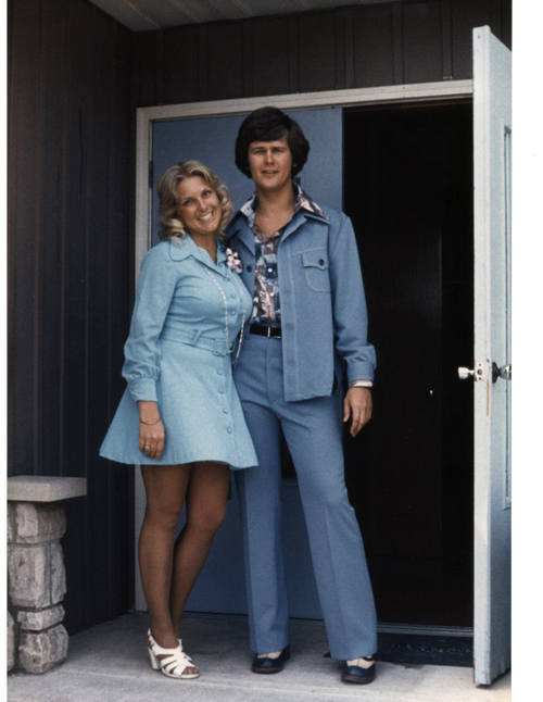 mark and sheila in blue