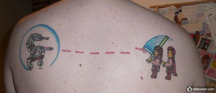 tatoo fail lego starwars