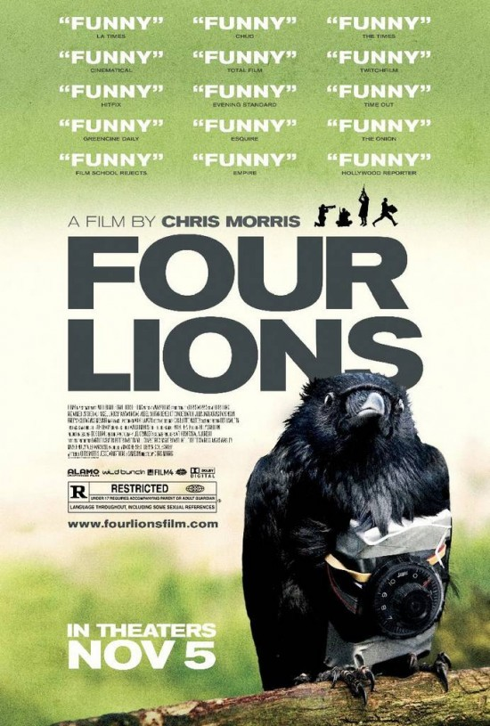 Four Lions Poster 550x815