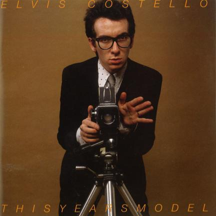 Elvis Costello This Years Model front cover