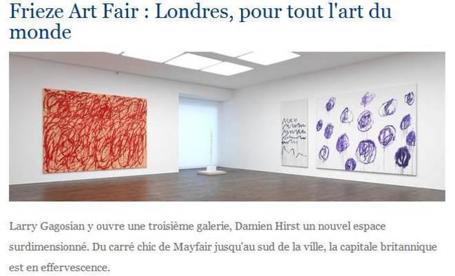 Lart moderne expose a Londres
