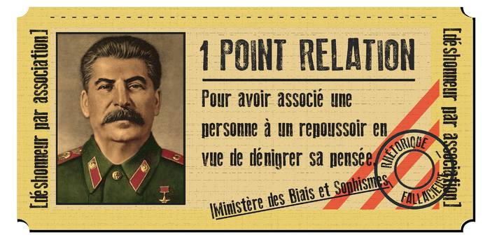 déshonneur par association (point relation)