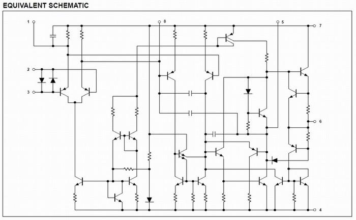 NE5534 Schematic