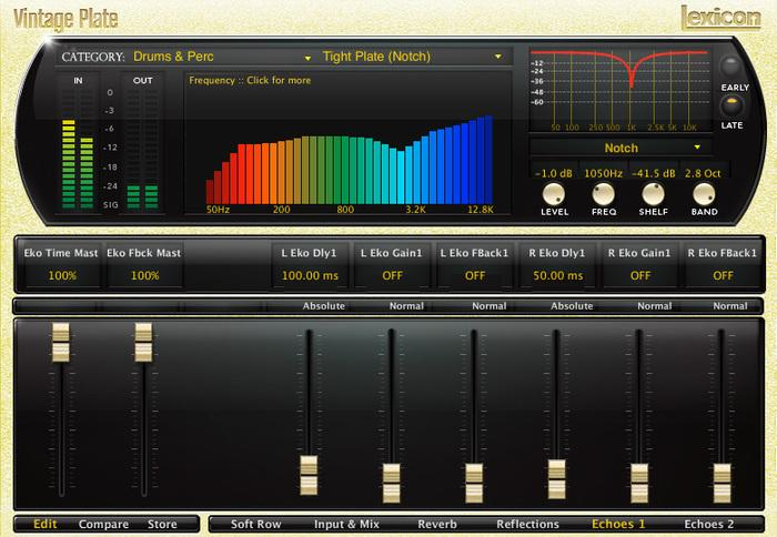 Lexicon PCM Native Reverb Plug-In Bundle Red Led images