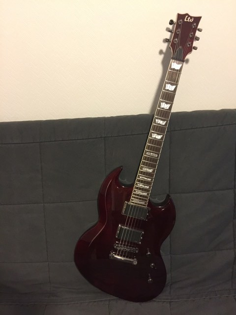 LTD Viper-300FM - See Thru Black Cherry (18444)