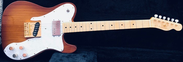 Tele Custom 72 two tone sunburst 70s pup   1 (6)