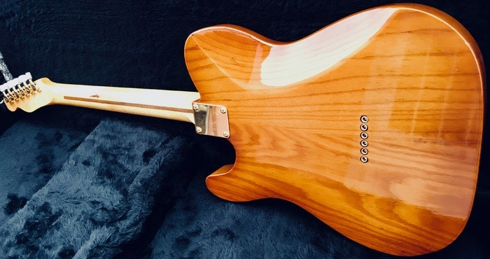 Tele Custom 72 two tone sunburst 70s pup   1 (11)