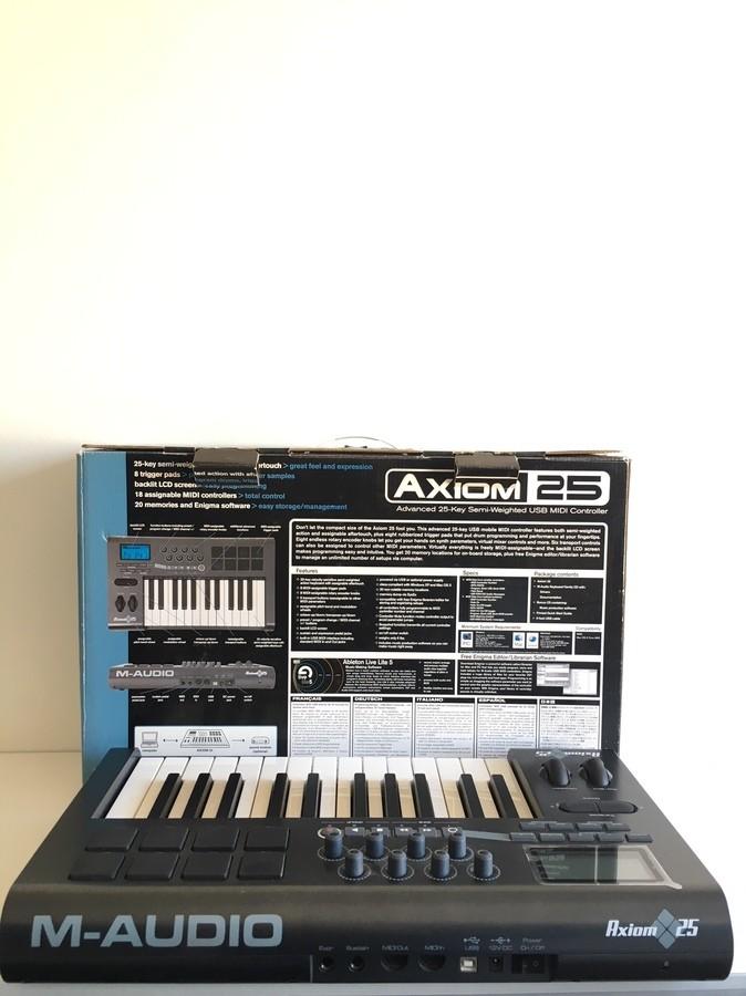 M-Audio Axiom 25 (59969)