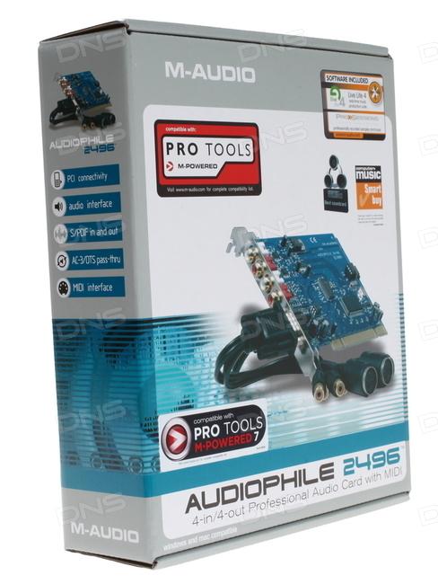 photo m audio delta audiophile 24 96 m audio audiophile. Black Bedroom Furniture Sets. Home Design Ideas