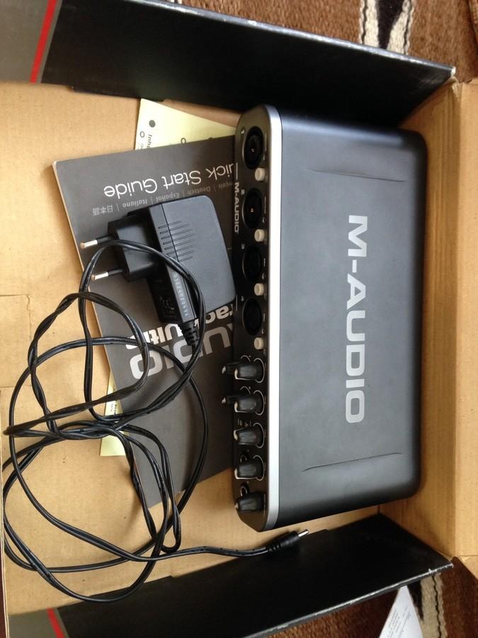 M-Audio Fast Track Ultra (32621)
