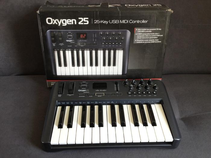m audio oxygen 25 3rd gen manual