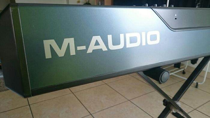 m audio oxygen 88 manual