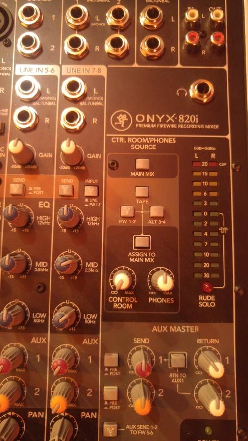 Mackie Onyx 820i (6582)