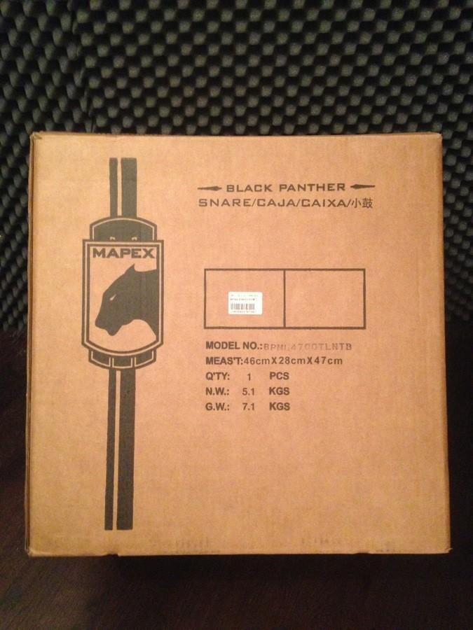Mapex Black Panther Phat Bob 14x7
