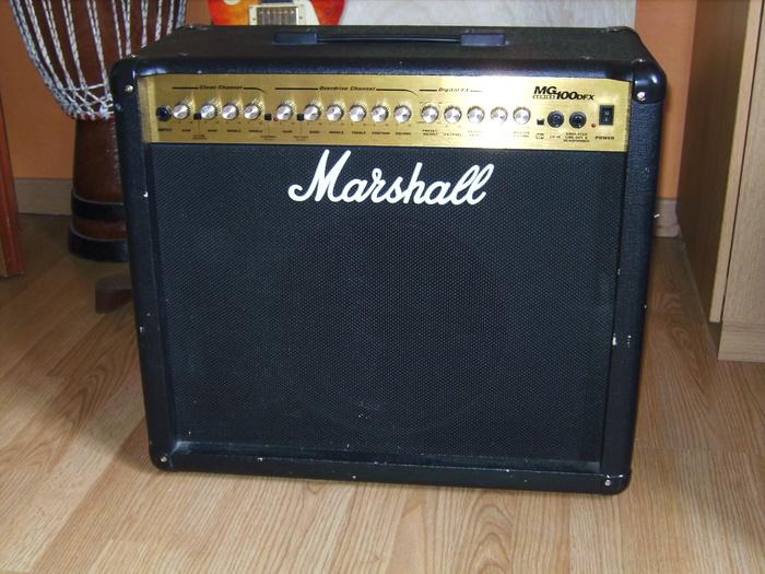 marshall mg100dfx image 408595 audiofanzine. Black Bedroom Furniture Sets. Home Design Ideas