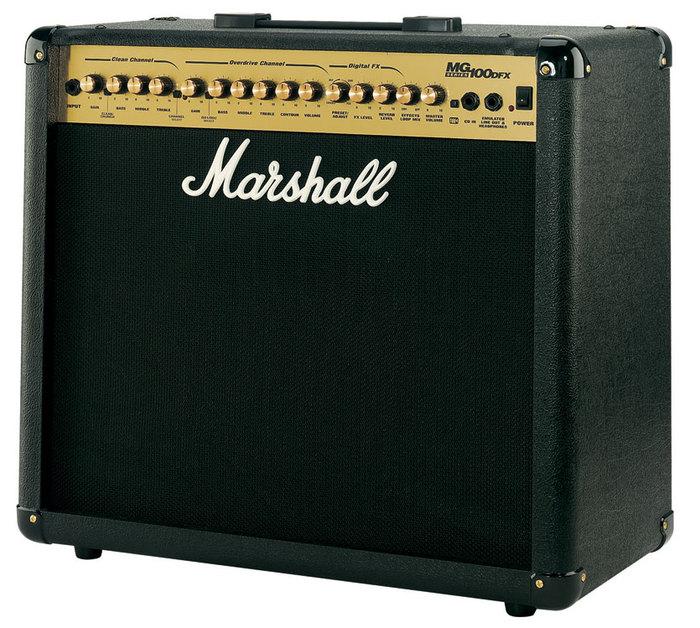 marshall mg100dfx image 444061 audiofanzine. Black Bedroom Furniture Sets. Home Design Ideas