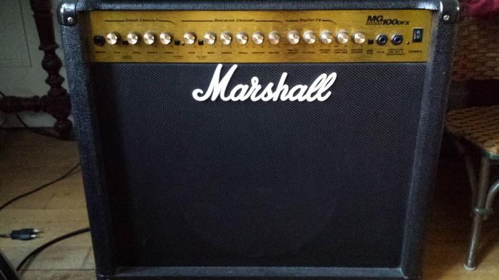 marshall mg100dfx image 861886 audiofanzine. Black Bedroom Furniture Sets. Home Design Ideas